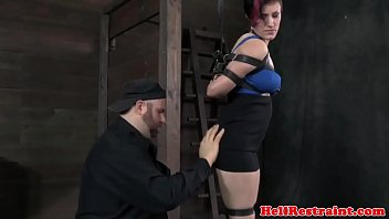 Clit paddling treatment for alt submissive