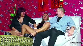 Mom and Dad fuck their step-daughter in a hot threesome
