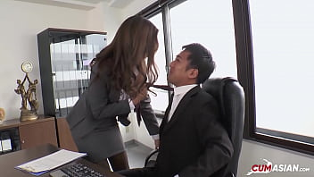 Japanese Teen Secretary Gets Fucked By Her Boss [Uncensored]