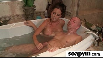 Sisters Friend Gives Him a Soapy Massage 4
