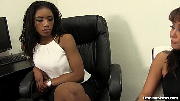 Sexy Black Lesbians 69 Each Other!