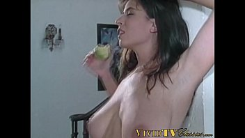 Cutie with large breasts gets her tight hole pounded hard