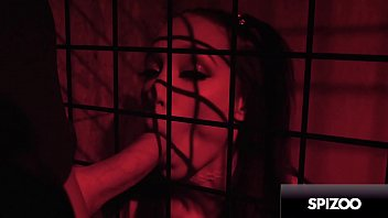 Young Alexis Tae Gets Caged & Punished by Huge cock - Spizoo