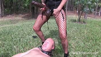 CUCKOLD HUSBAND GETS PEGGED and PISSED on plus clip  BITCH GETS DOMMED  #cuck #lesbian #pee #pegged