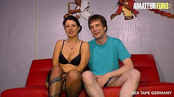 AMATEUR EURO - #Bonnie Deore - Big Ass German MILF Bangs With Young Lover On Cam
