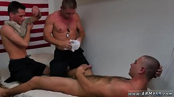group of sissy gays cum together rocco and cj swapped places and