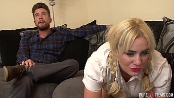 Chubby stepsis gets fucked hard
