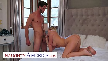 Naughty America - Bailey Brooke gives her friend's brother some juicy cake thumbnail
