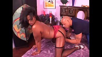 Big booty MILF Phoenix in stockings rides black cock reverse cowgirl in bed