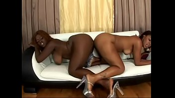 Chocolate curvacious cuitie with curly red hair Sierra Lust invites her black collegemate Ms. Juicy to train their linguistic skills