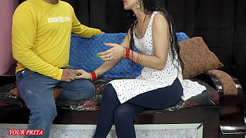 Priya teaches her brother how to satisfied her future wife at first night i
