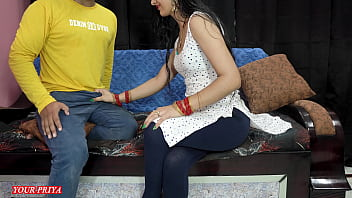 CoverPriya teaches her brother how to satisfied her future wife at first night in clear hindi voice