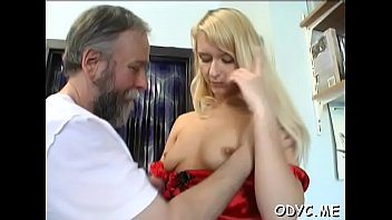 Old wet vagina - Younger slut is ready to take some old weenie up her wet vagina