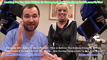 $CLOV Become Doctor Tampa While He Examines Big Tit Blonde Bella Ink For New Student Physical At GirlsGoneGyno.com