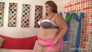 Tempting fat beauty Erin Green fucked by a long dick.