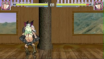 Hentai flash games - Mugen - ryona morrigan vs ryona morrigan