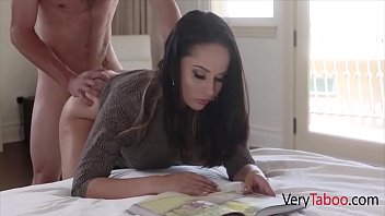 Son's Hard Dick Goes Inside Uninterested Mom- Crystal Rush