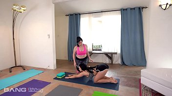Trickery - Big Tits Babe Tricked Into Sex By Yoga Instructor
