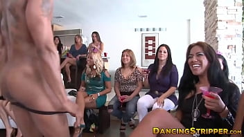 Real amateurs blowing cock at bachelorette party