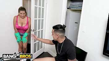 Busty Latina Maid Alesandra Gets Railed By Big Dick Stud Bruno D