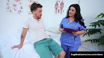 BBW Medical Muffs Angelina Castro & Karen Fisher Share Cock!