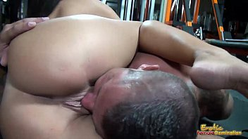 Rounded big tits and erotic lips used for s. and teasing slave