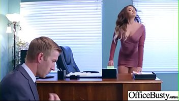 Hot Nasty Cute Girl (Cassidy Banks) With Big Juggs Like Sex In Office vid-13