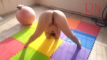 Naked yoga Naked gymnastics Nude Yoga PART 3 A wonderful lady spreads her legs wide. Lovely pussy.