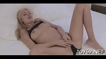 Playsome blonde gal Holly is testing a sextoy