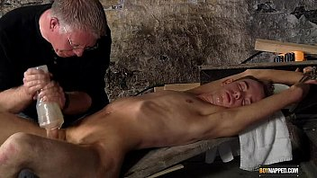 Gay fetish huge cum - Wanked to a cum load by the master
