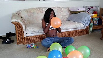 Watch me blow up these balloons