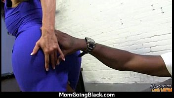 Oh shit! There is a Negro in My Mom 15