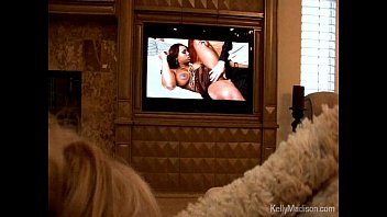 Kelly Madison Gets A Creampie While Watching Porn