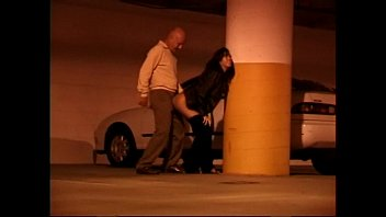 Asian girl fucked in a garage