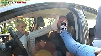 Italian foot fetish sites The first time of valeria - foot domination inside the car
