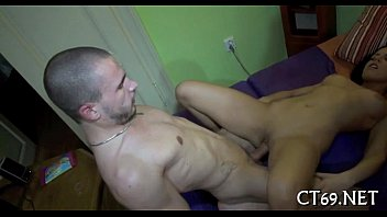 Coarse pussy-ramming session