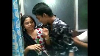 Horny Bagladeshi Girl Kiss with her boy frined