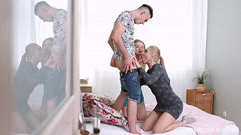 FirstBGG.com - Caty Kiss & Lightfairy - Stepmom gives blowjob lesson