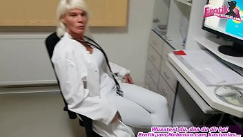 german female doctor fucks her patient in hospital