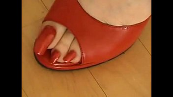Unequal Belle With A Puckish Love Tunnel Does A Footjob On His Wingle