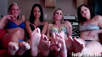 Our feet fetish hurt can you massage them