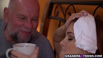 Teen grand dauther Renata Fox is sick and wants her horny grandpa to take care of her by fucking her fresh teen pussy to make her feel better. pornhub video