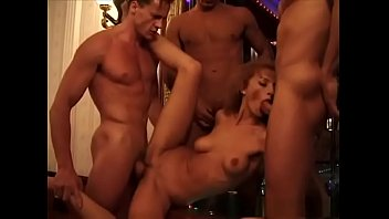 Tunde Dorgen smoking and fucking in a nice gangbang