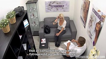Busty Blonde Seduces Her Doctor thumbnail
