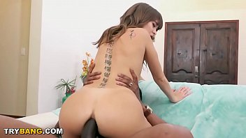 Petite Treat Riley Reid Taking Big Black Cock Anal From Charlie Mac FTW