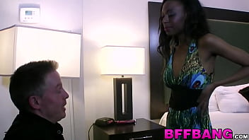 Ebony besties penetrated and blowjob after eating pussy