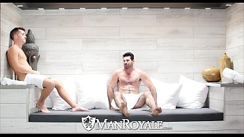 La gay bath houses Manroyale - billy santoro fucks a twink at the bath house