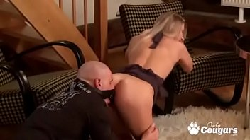 Ally Gets Nailed From Behind By A Face Strapon