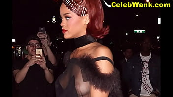 Rihanna Nude Pussy Nip Slips Titslips See Through And More