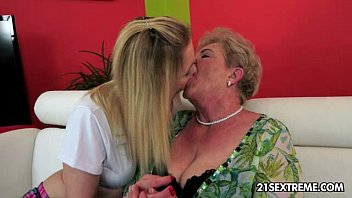 Lady Bella and Cristal Rose - Old Young Lesbian Love